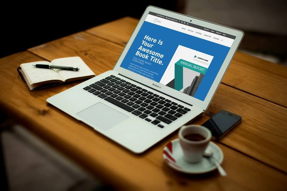 Free Divi Layout: Selling a book #1 Light & Dark