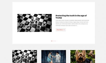 Free Simple Blog Divi layout