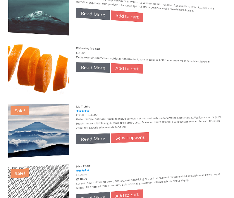 WooCommerce List View For Divi Theme