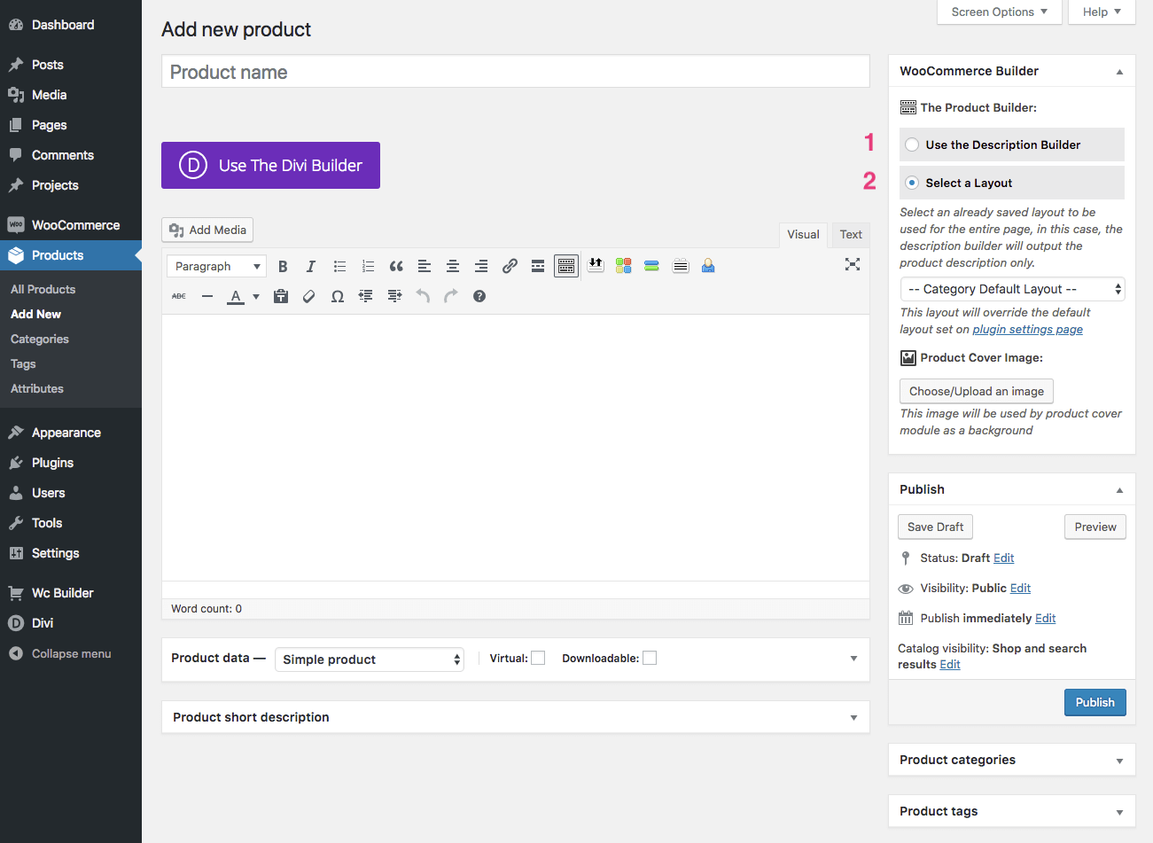 WooCommerce Builder 2 0 beta 1 + Visual Builder Support & Archive