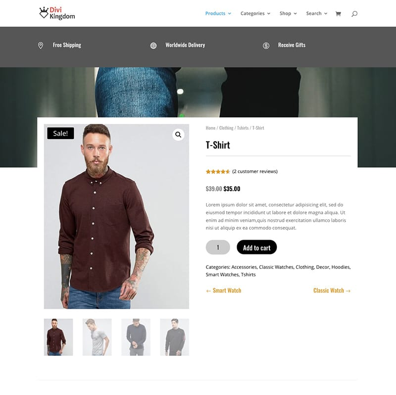 WooCommerce Builder For Divi 7