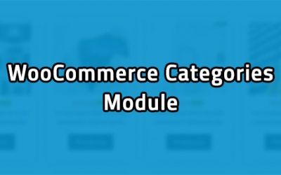 Welcome The New WooCommerce Categories Module
