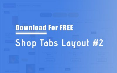 Download The FREE Shop Tabs Module Layout #2