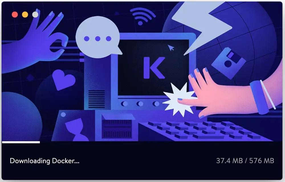 DevKinsta downloads docker desktop
