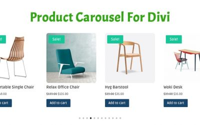 The Amazing New Product Carousel Module For Divi!