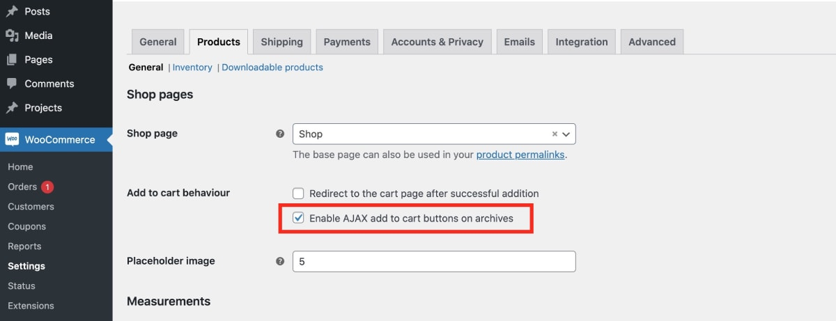 Enable Ajax add to cart on WooCommerce archive pages